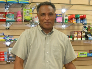 Shewangezaw Tilahun , Owner of Rock Creek Market