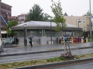 Georgia Ave/Petworth Metro station