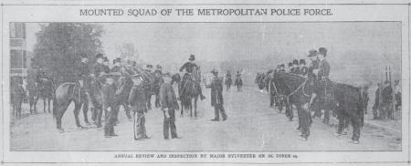 Mounted Squad of the Metropolitan Police Force