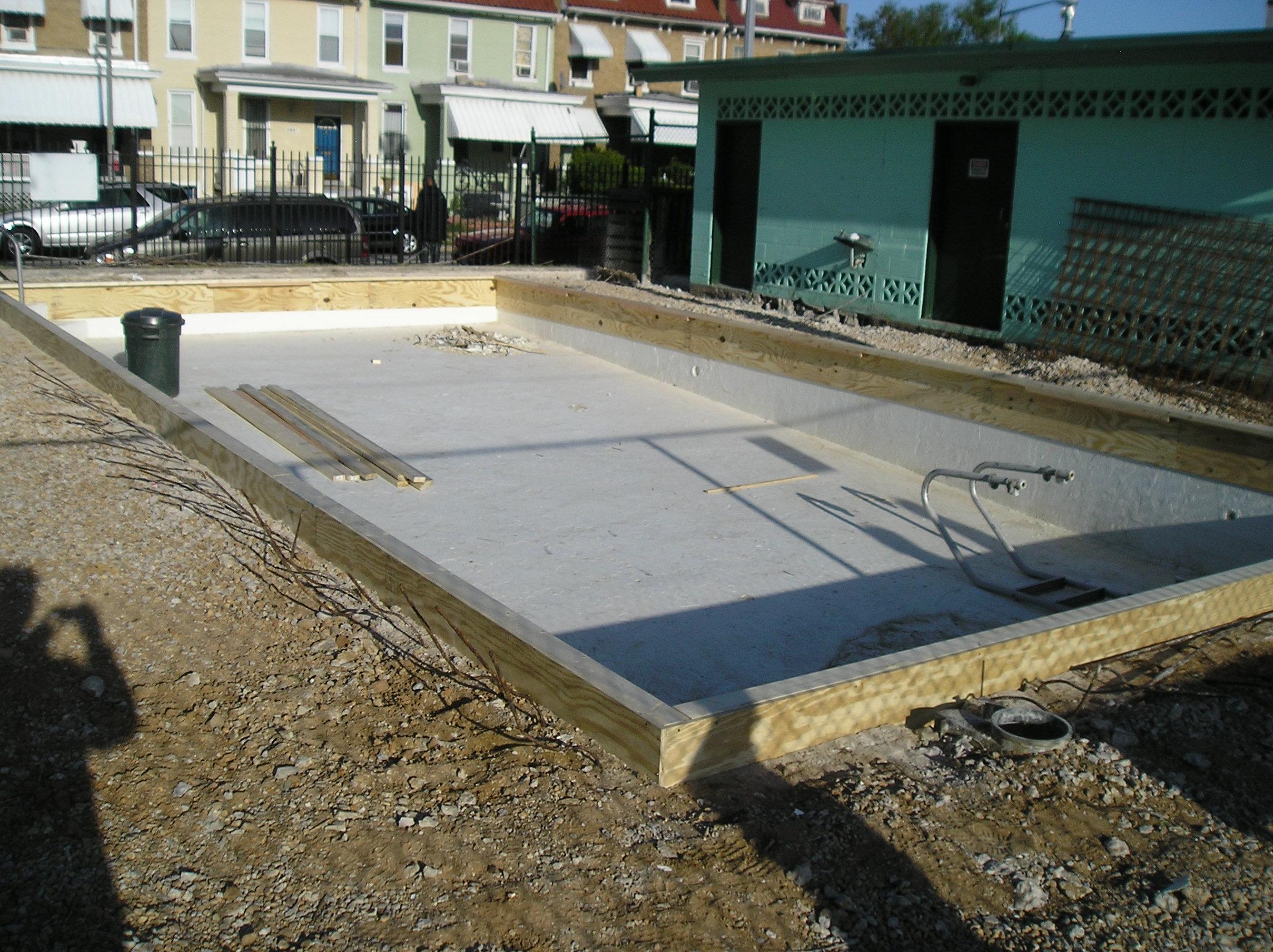 Pool At Rec Center Receiving Repairs Park View D C