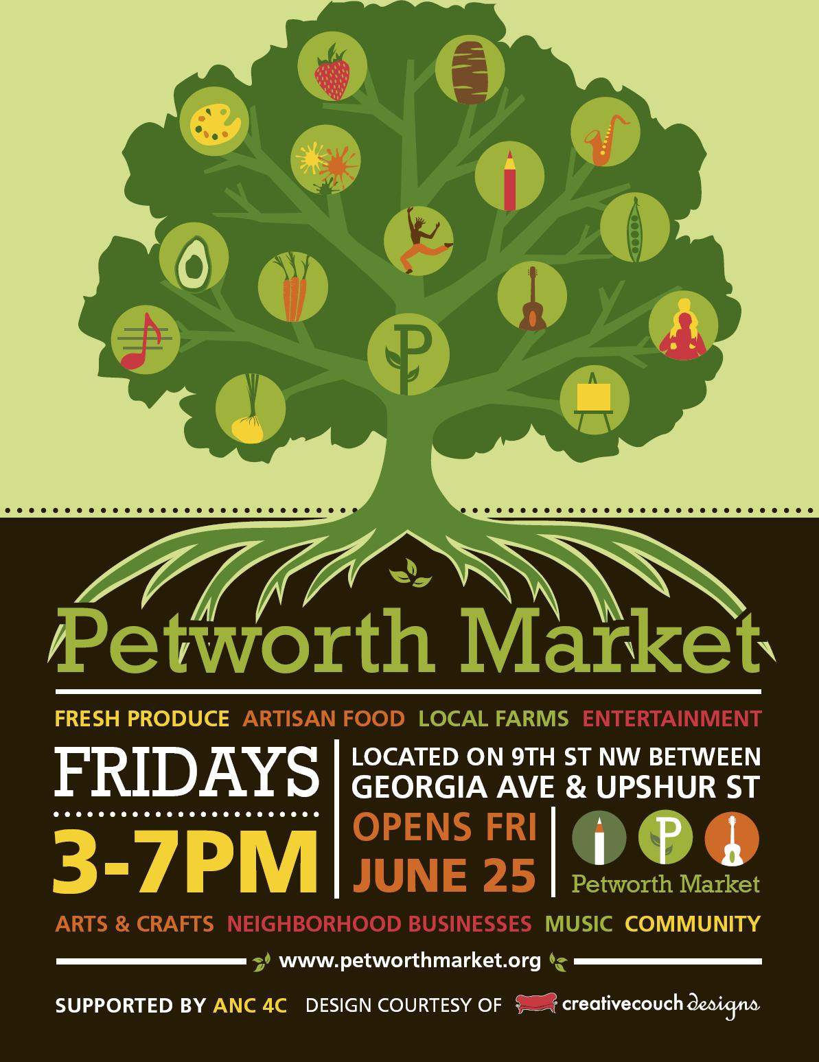 petworth community market set to open friday  june 25