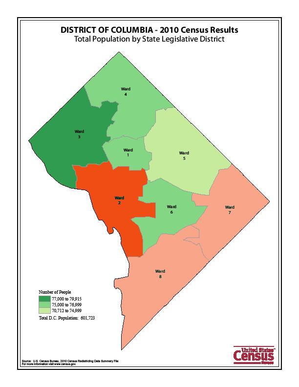 Census Park View D C