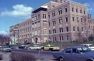 The Hebrew Home for the Aged, at 1125 Spring Road, in 1967.