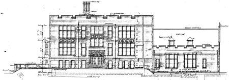 North Elevation Park View School 1915