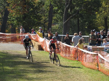 Image from the 2011 Cyclocross on the grounds of the Soldiers' Home.