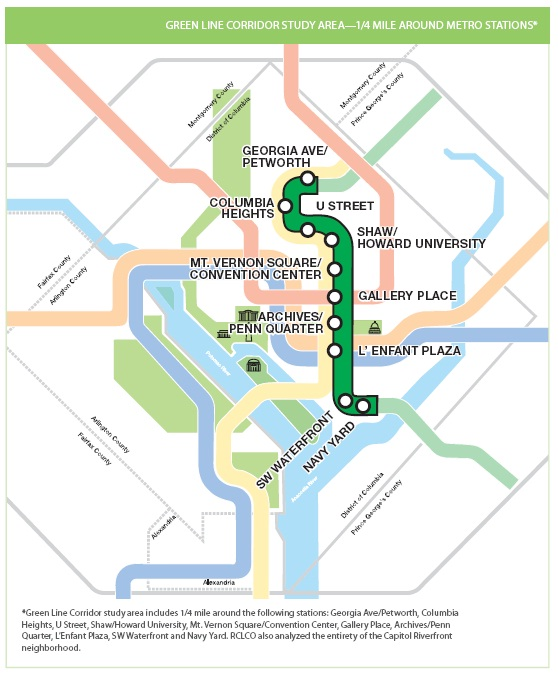 Dc Metro Map Green Line.Green Line Park View D C