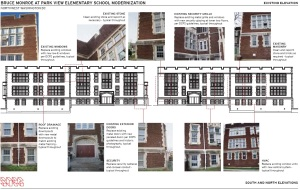 Planning for the school's phase I modernization began in late 2011.