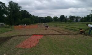 Start of the 2012 AFRH Garden season.