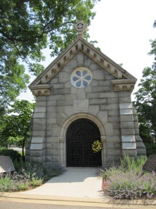 General Logan's tomb at the United States Soldiers' and Airmen's Home National Cemetery on Harewood Road — just north of the old Soldiers' Home