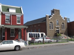 The former New Commandment Baptist Church at 625 Park Road is currently on the market for $3,500,000.