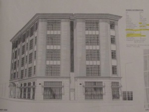 Rough sketch of building coming to 3205 Georgia Ave.