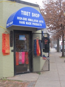 Tibet Shop, located at 3213 Georgia Avenue.