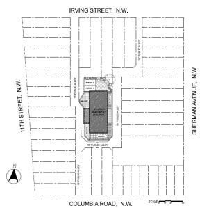 Thompson Lofts site plan