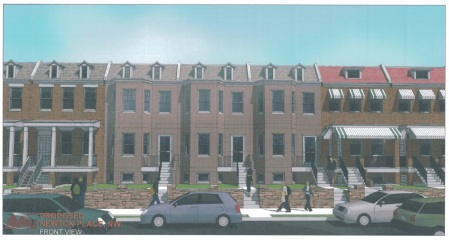 429 Newton Place rendering