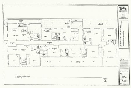 Proposed first floor plan.