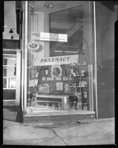 Professional Pharmacy display, October 1963, Scurlock Studio Records, ca. 1905-1994, Archives Center, National Museum of American History.