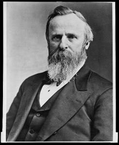 19th President Rutherford B. Hayes (Image from Library of Congress).