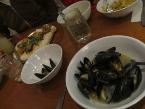 I've enjoyed the Mussels time and again at Mothership.