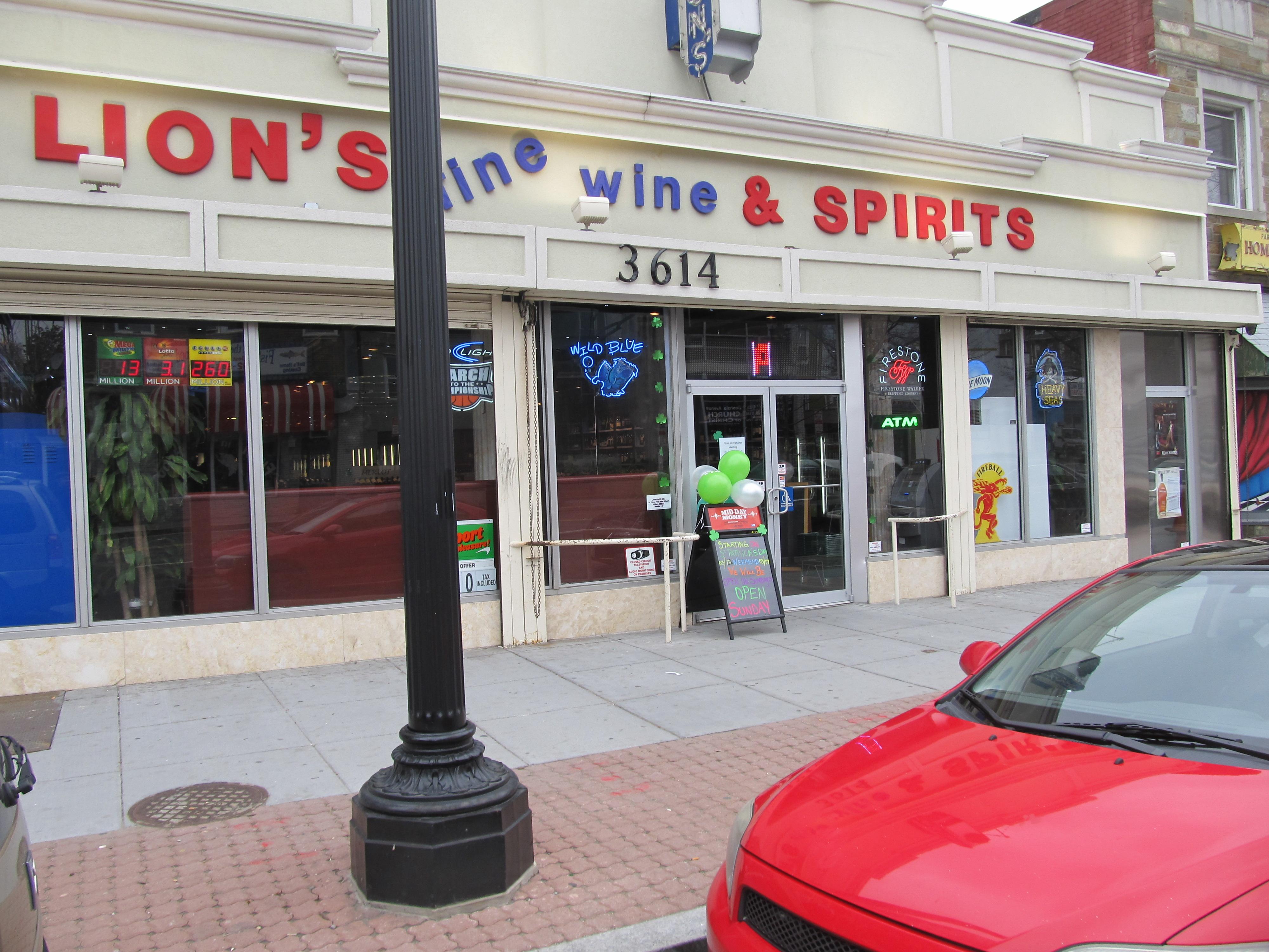 Lion S Fine Wine Spirits Now Open On Sundays Park View D C