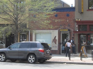 The Blue Banana, 3632 Georgia Ave., NW.