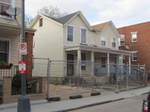 619 Newton Pl, NW, as it looked in April, 2013.