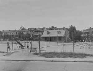 The Park View Playground, 1938.