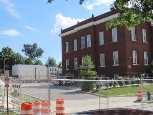 Chavez Prep is getting ready to add a gymnasium addition to the east side of the building.