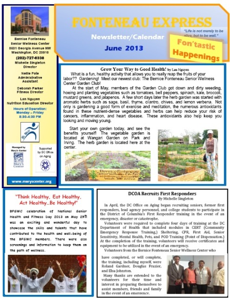 SWC June 2013 Newsletter