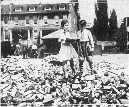 Bricks Litter Playground 1932
