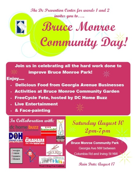 Bruce Monroe Community Day 2013