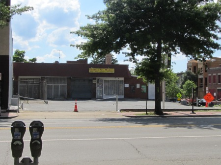 Georgia Avenue Market, on the southwest corner of Georgia and Kenyon, recently closed.