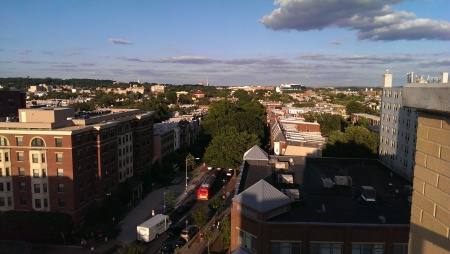 View east toward Park View.