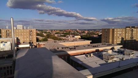 View to toward Howard University.