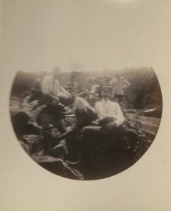 Resting at Great Falls, September 6, 1891.