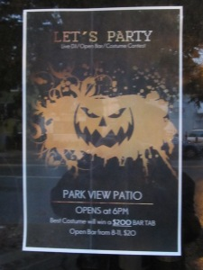 Park View Patio opens Halloween Night with a $20 open bar from 8-11 p.m.