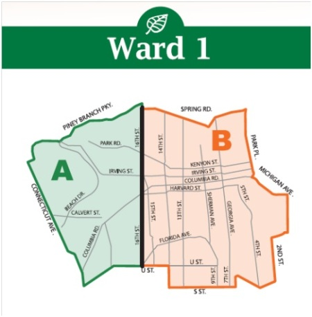 Ward 1 2013 leaf collection map