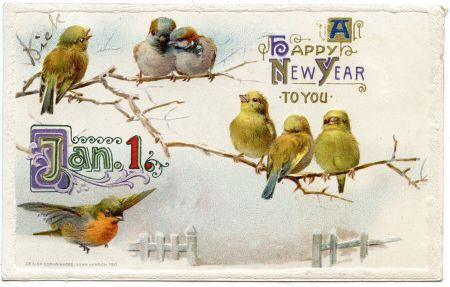 New Year postcard 2014