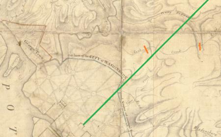 Rock Creek Church Road 1793 detail