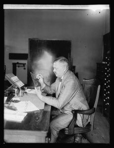 One of DC's finest -- Detective Fred Sandberg ca. 1920 (Photo from the Library of Congress).