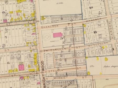 Schuetzen Park 1903 map