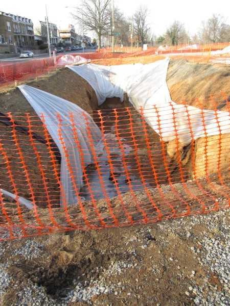 Bioretention pit