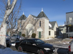 Originally built for Trinity A.M.E. Zion church in 1905, the small church at 777 Morton Street was designed by black architect William Sidney Pittman.