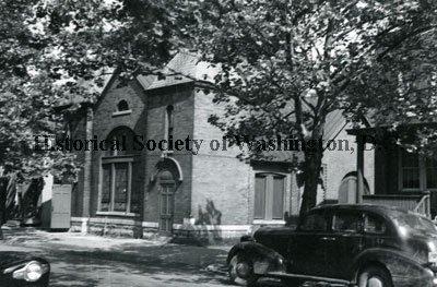 Pittman's Morton street church in 1949, from the Hi