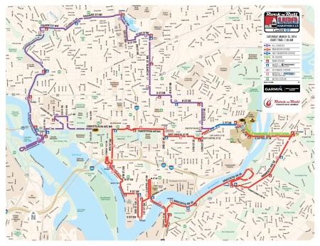 14 marathon course
