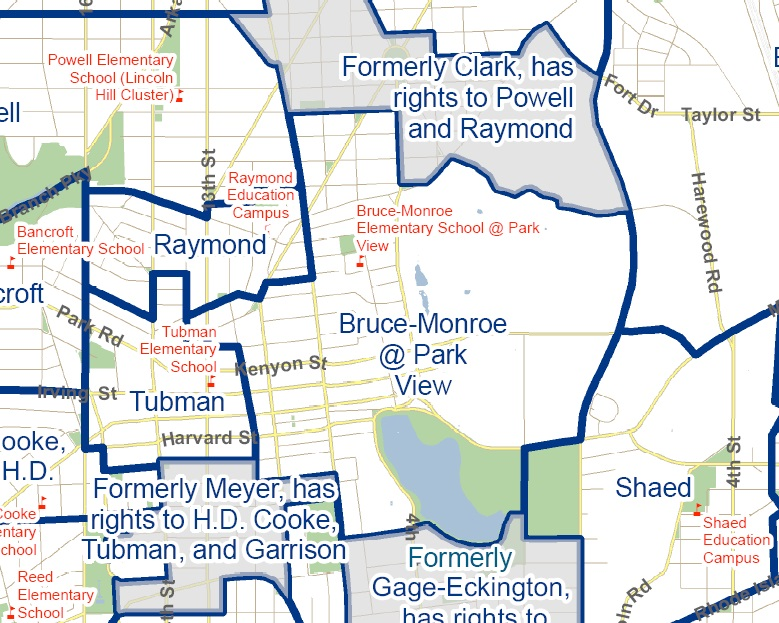 The Past Present And Possible Future School Boundaries