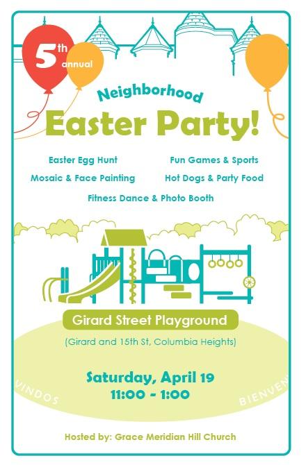 Easter Meridian Hill Girard Park