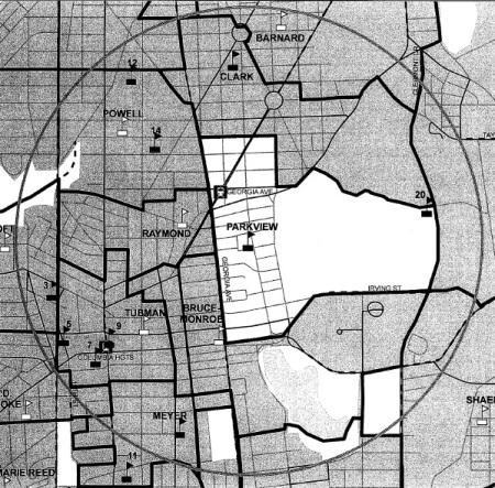 Park View boundaries 2007