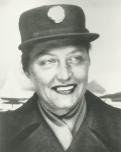 Regina C. Jones, first female resident at the Soldiers' Home.