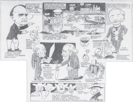Georgetown 1908 cartoon