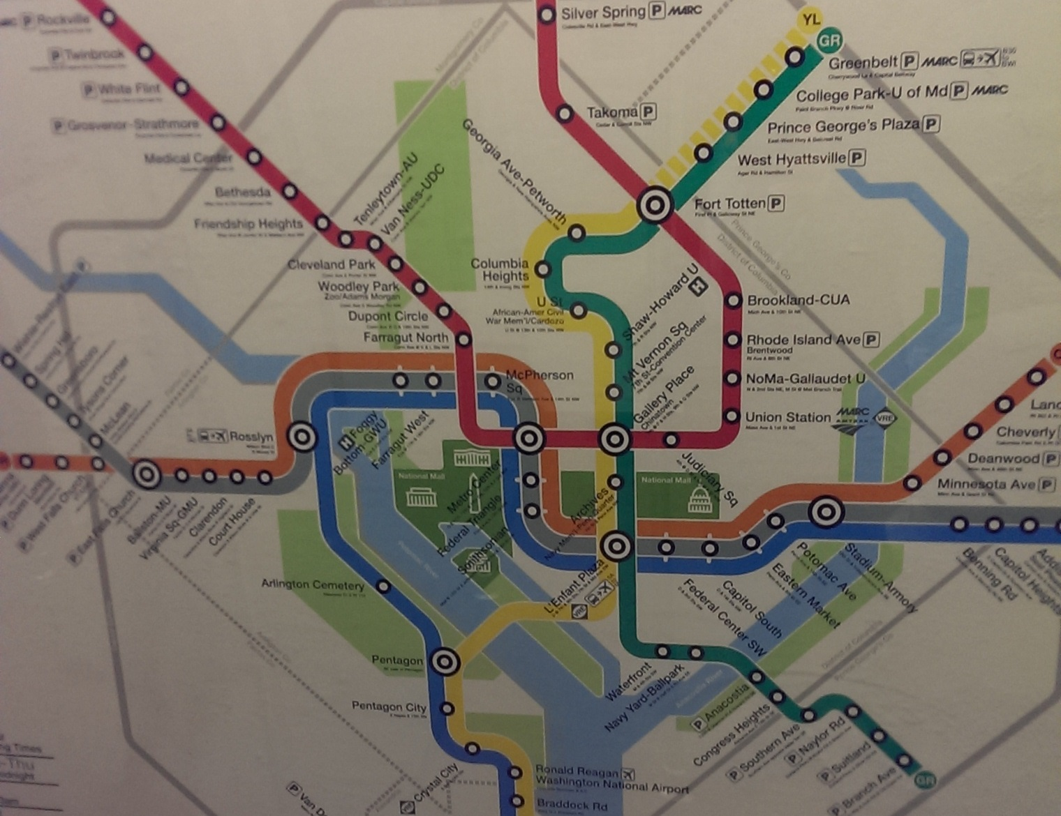 Metro Park View DC - Washington dc silver line map